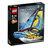 LEGO Technic 42074 - Rennyacht, Set f&uuml,r ge&uuml,bte Baumeister: Amazon.de: Spielzeug