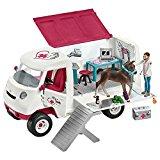 """Schleich 42370 """"Mobile Tier&auml,rztin mit Hannoveraner Fohlen"""" Spielzeug: Amazon.de: Spielzeug"""