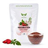 NaturaForte 1kg Hagebuttenpulver naturrein glutenfrei - speziell auch f&uuml,r die Gelenke - 1000-fach bew&auml,hrt: Amazon.de: