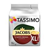 Tassimo Jacobs Caff&egrave, Crema Classico XL, 5er Pack Kaffee T Discs (5 x 16 Getr&auml,nke): Amazon.de: Lebensmittel & Geträn