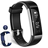 Fitness Tracker, Wesoo K1 Fitness Armb&auml,nder mit Ersatzband, Schrittz&auml,hler Armband mit Schlafmonitor Kalorienz&auml,hle