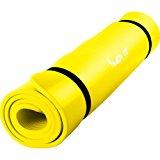 MOVIT Pilates Gymnastikmatte, Yogamatte, phthalatfrei, SGS gepr&uuml,ft, in 2 Gr&ouml,&szlig,en 190cm x 100cm oder 190cm x 60cm,