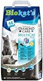 Biokat's Diamond Care Multicat Fresh Katzenstreu - Hochwertige Klumpstreu f&uuml,r Katzen mit Aktivkohle und Cotton Blossom Duft