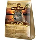 WOLFSBLUT Trockenfutter WILD DUCK Ente + Kartoffel Adult f&uuml,r Hunde 15,0 kg: Amazon.de: Haustier