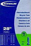 "SCHWALBE Fahrradschlauch AV17 mit Autoventil ~ 28"" ~ 37-622 mm (28 x 1 3-8 x 1 5-8 Zoll) (28 x 1.40 Zoll): Amazon.de: Sport & Fr"