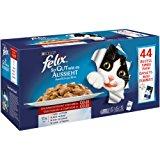 Felix So gut wie es aussieht in Gelee mit Huhn, Rind, Ente, Lamm, Nassfutter f&uuml,r Katzen (44 x 100 g Beutel): Amazon.de: Hau