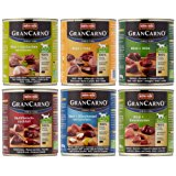 Animonda GranCarno Hundefutter Original Adult Mix 2 aus 6 Variet&auml,ten, 6er Pack (6 x 800 g): Amazon.de: Haustier