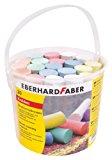 Eberhard Faber 526512 - Stra&szlig,enmalkreide 20er Eimer: Amazon.de: Spielzeug