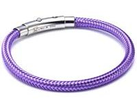 Nomination Damen-Armband You-Cool aus Stahl und Kupfer 21 cm Gr&ouml,&szlig,envariabel (Violett) 025300-014