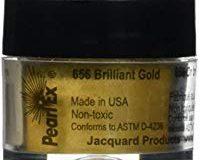 Jacquard Pearl EX gepudert Pigmente 3&nbsp,grams-metallics&nbsp,&ndash,&nbsp,Antik Bronze Brilliant Gold