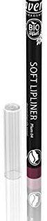 lavera Soft Lipliner - Farbe Plum Lips - cremige & lang haftende Textur - Natural & innovative Make up - Bio Pflanzenwirkstoffe