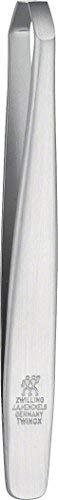 Zwilling 78148-101-0 Twinox Pinzette, abgewinkelt, rostfreier Edelstahl, mattiert, 90 mm