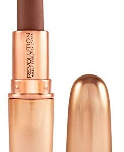 MAKEUP REVOLUTION Iconic Matte Nude Lipstick Inspiration, 3 g