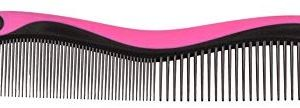 Solida Damenkamm, Softtouch, pink, 4er Pack (4 x 1 St&uuml,ck)
