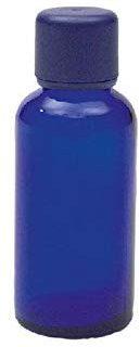 Neumond blauglasflasche f&uuml,r 50 ml mit K&ouml,rper&ouml,l-Verschluss, 1er Pack (1 x 1 St&uuml,ck)