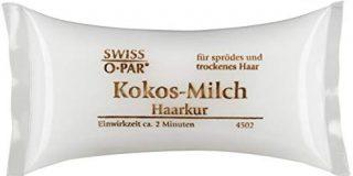 Swiss-o-Par Haarkur Kissen Kokos, 4er Pack (4 x 25 ml)