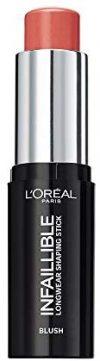 L'Or&eacute,al Paris Contoruing Makeup Infaillible Kontur-Stick Blush 002 Rouge, 1er Pack (1 x 9 ml)