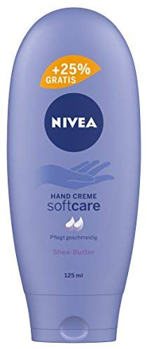 Nivea Soft Care Hand Creme, 4er Pack (4 x 100 ml + 25 ml)