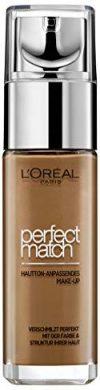 L'Or&eacute,al Paris Perfect Match Hautton-Anpassendes Make-Up 8R-8C, 1er Pack (1 x 30 g)