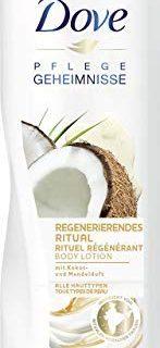 Dove Regenerierendes Ritual Body Lotion mit Kokos- & Mandelduft, 400 ml