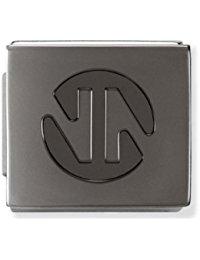 Nomination Composable Damen-Bead Edelstahl Ikons Symbols Nn Logo beschichtet 230102-08