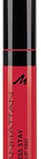 Manhattan Endless Stay Liquid Lip Tint, Farbe 94R Red Tulip, langanhaltende Lippenfarbe mit leichter Textur die nicht klebt