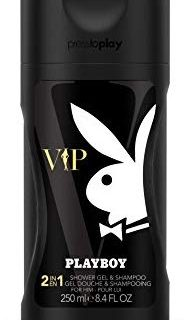 Playboy VIP Shower Gel 250ml Men, 1er Pack (1 x 250 ml)