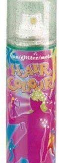 Color Spray Glitter, gr&uuml,n, 125 ml