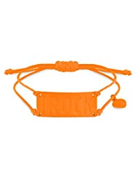 Ibiza Rocks 'I Rock'Neon Orange, gro&szlig,, verstellbar, Braclet 19 cm