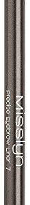Misslyn Precise Eyebrow Liner Nr.5 medium dark, 0.78 g