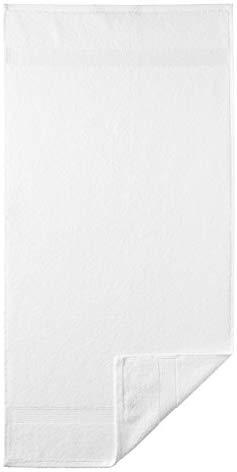 Egeria 2010450 Diamant Waschhandschuh, Baumwolle, white, Gr&ouml,&szlig,e 15 x 21 cm