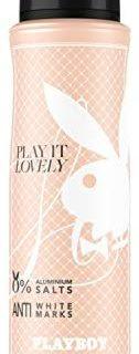 Playboy Play It Lovely Deo Body Spray Frau, 1er Pack (1 x 150ml)