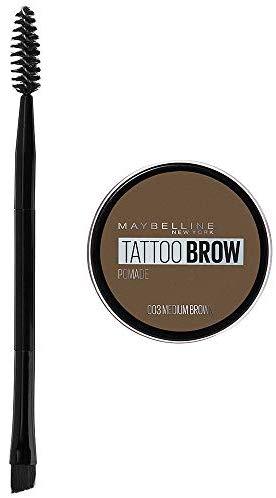 Maybelline New York Tattoo Brow Augenbrauenpomade in Nr. 03 Medium, 4 ml
