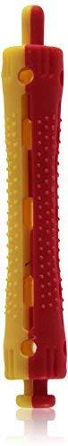 Efalock Professional Kaltwellwickler kurz, 9 mm, gelb- rot, 1er Pack, (1x 12 St&uuml,ck)