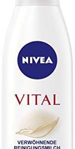 Nivea Vital Verw&ouml,hnende Reinigungsmilch f&uuml,r reife Haut, 1er Pack (1 x 200 ml)