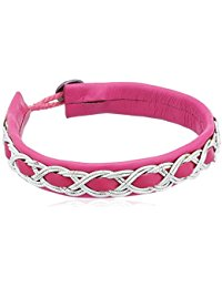 Pilgrim Jewelry Damen-Armband Messing aus der Serie Summer versilbert,pink 18.5 cm 291326752
