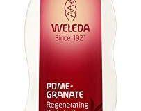 WELEDA Granatapfel Pflegelotion (1 x 200 ml) - feuchtigkeitsspendende Bodylotion zur Pflege von trockener Haut, Hautpflege, Zell