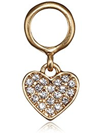 Pilgrim Damen-Anh&auml,nger Charming Kristall transparent Herzschliff - 47161