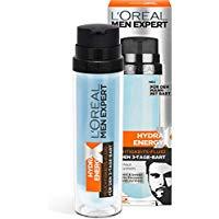 L'Oreal Men Expert Hydra Energy X Feuchtigkeits-Fluid, f&uuml,r Gesicht und 3-Tage-Bart, 50 ml
