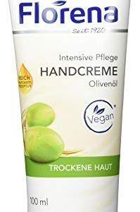 Florena Handcreme Oliven&ouml,l Vegan, 1er Pack (1 x 100&nbsp,ml)