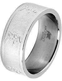 Akzent Unisex-Ring Edelstahl 11500010