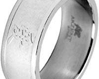Akzent Unisex-Ring Edelstahl Gr.74 (23.6) 001150074010
