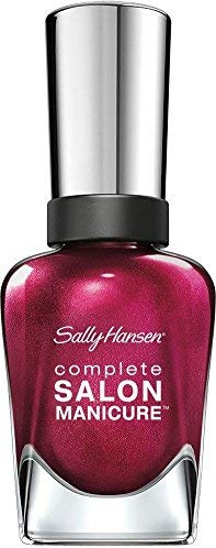 Sally Hansen Complete Salon Manicure Nagellack Nr. 620 Wine Not, 1er Pack (1 x 15 ml)