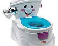 Fisher-Price P4326 Meine erste Toilette T&ouml,pfchen und Toilettensitz mit Musik und Soundeffekten Toilettentrainer f&uuml,r Kl