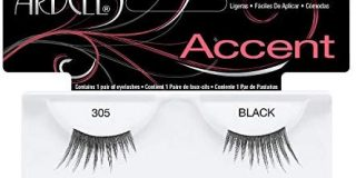 Ardell Lash Accents 305, das Original, black, 1er Pack (1 x 1 Paar)