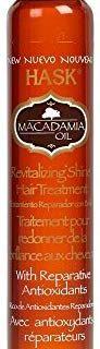 HASK Macadamia Moisturizing Shine Oil, 18 ml