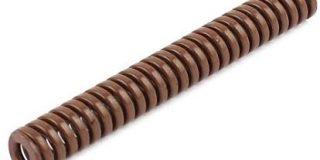Super Heavy Laden braun Spirale Stamping Kompression sterben Spring 8&nbsp,x 65&nbsp,mm