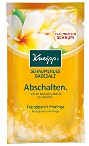Kneipp Sch&auml,umendes Badesalz Abschalten 80 g, 4er Pack (4 x 0.08 kg)