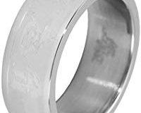 Akzent Unisex-Ring Edelstahl Gr.70 (22.3) 001150070007