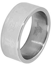 Akzent Unisex-Ring Edelstahl Gr.62 (19.7) 001150062007